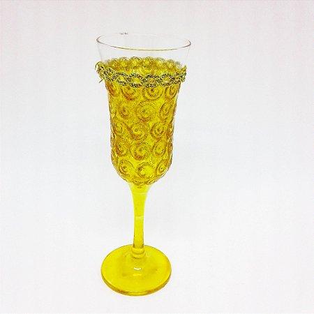 Taça - Luxo Amarela