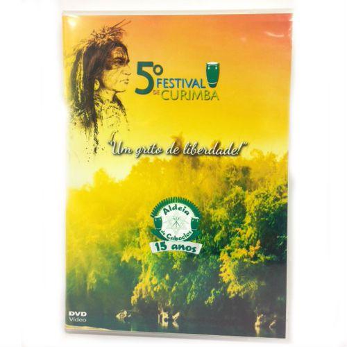 DVD - 5 Festival de Curimba