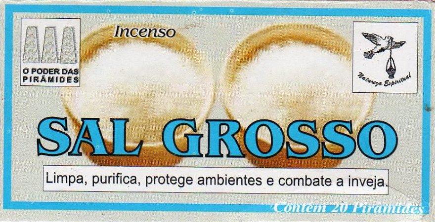Defumador - Sal Grosso