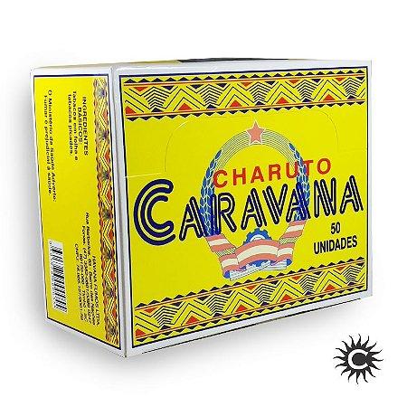Charuto - Caravana Caixa Com 50 Unidades
