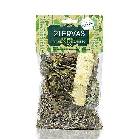 Banho de Erva - Santa Frescura - 21 Ervas