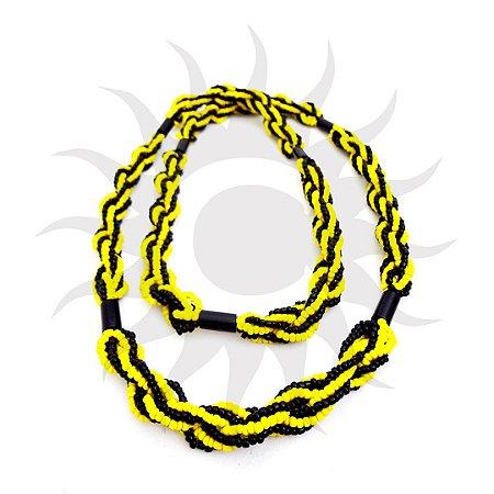 Brajá - Amarelo e Preto 7 Fios