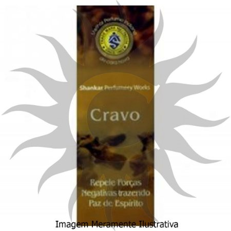 Incenso Shankar -Cravo