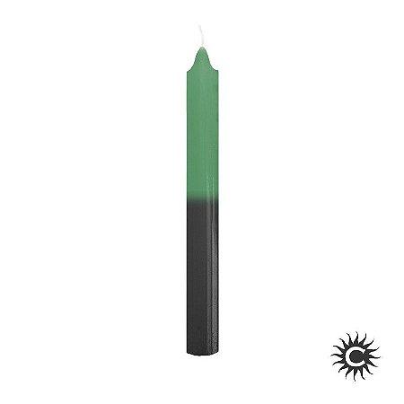Vela - Palito - UNIDADE - Verde/Preta