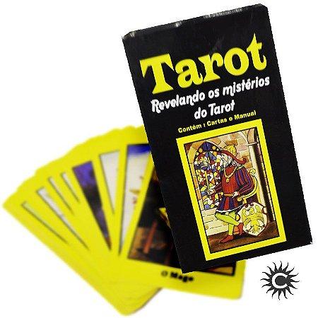 Livro - Tarô - Revelando Os Mistérios Do Tarot