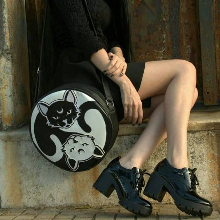 Bag Cat Yin Yang