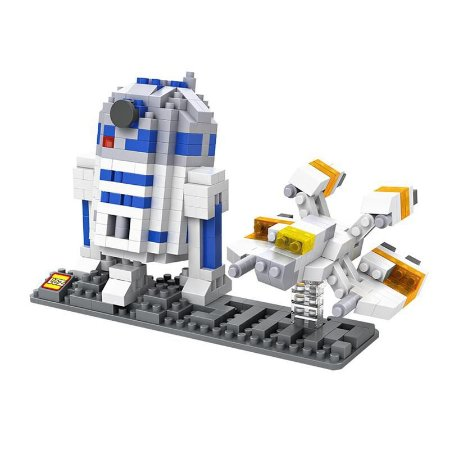 Mini Blocos R2D2 - Loz Star Wars