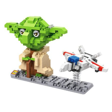 Mini Blocos Yoda - Loz Star Wars