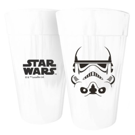 Copo Long Drink Star Wars Stormtrooper - Disney - 450 ml