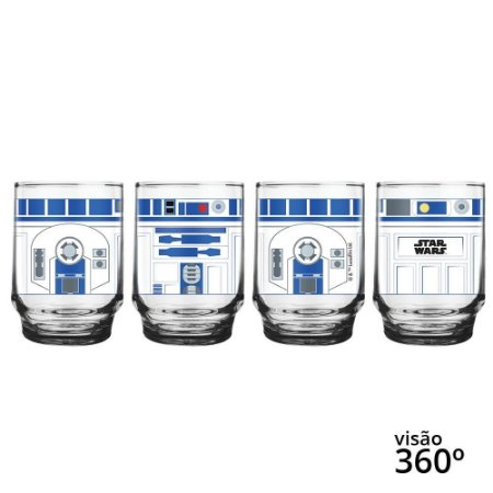 Copo Star Wars Figurinhas R2-D2 - Disney - 260 ml