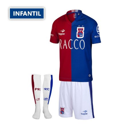 Kit Oficial INFANTIL Paraná Clube I • Topper • 2016