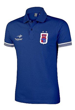 Camisa Polo Azul Paraná Clube • Topper