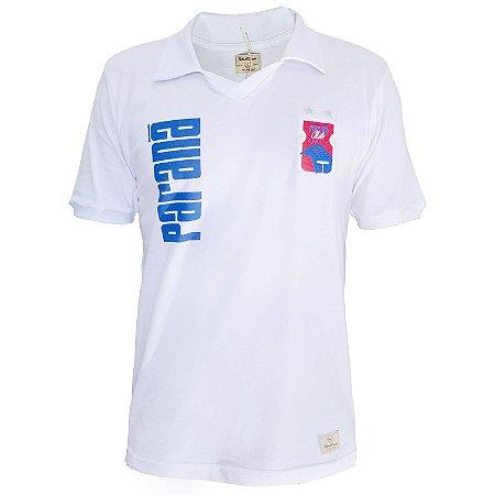 Camisa Retrô Branca • Anos 90 • Paraná Clube - Loja PRC - Loja ... 5a9fe8d0e26b1