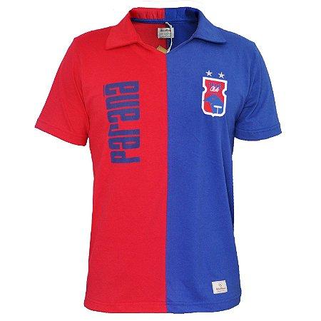 Camisa Retrô Vermelha/Azul • Anos 90 • Paraná Clube