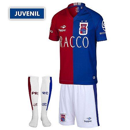 Kit Oficial JUVENIL Paraná Clube I • Topper • 2016