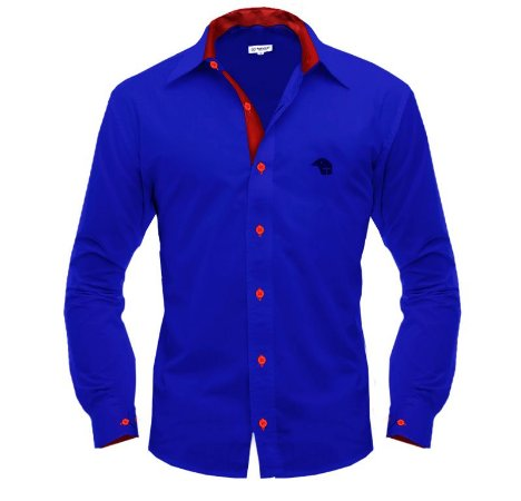 Camisa Social • Azul/Vermelho • Paraná Clube
