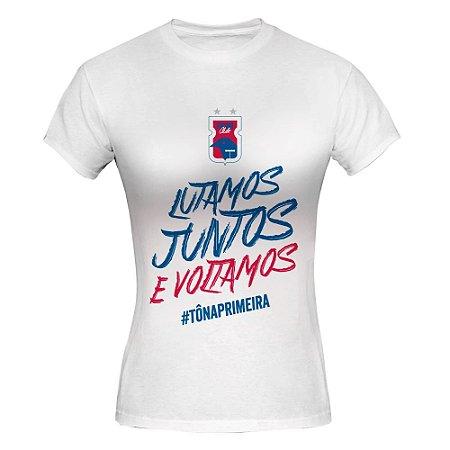 Camiseta Baby Look • Tô na Primeira• Paraná Clube