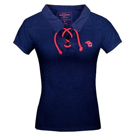 Camisa Polo FEMININA • Paraná Clube • com cordão