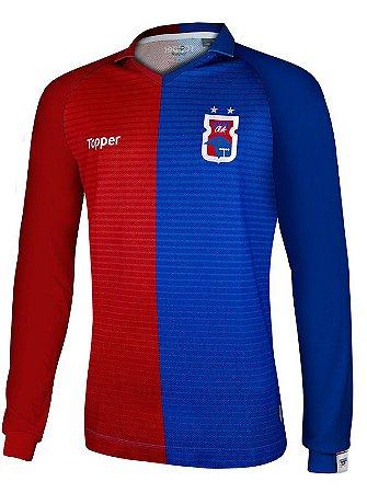 Camisa Oficial Home Paraná Clube • Manga Longa • Topper • 2018 ... d191ad90876df