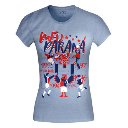 Camiseta Baby Look • Meu Paraná • Paraná Clube