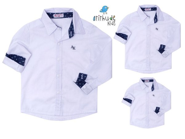 Kit camisa Ryan - Família (três peças)