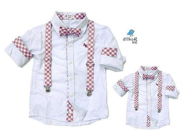 Kit camisa Mike - Tal pai, tal filho (duas peças)