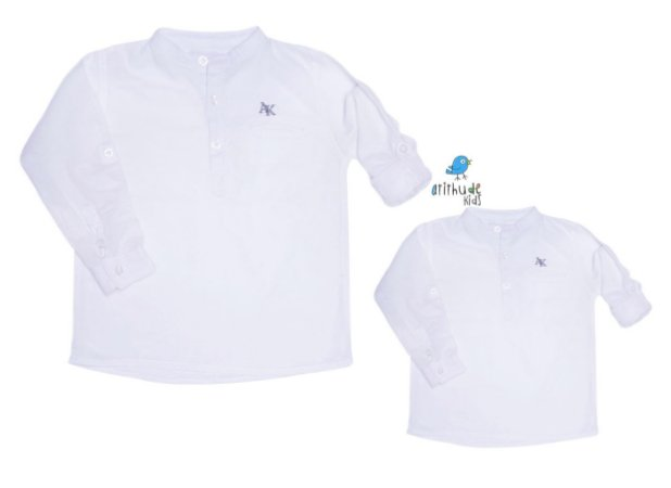 Kit camisa Sean - Tal pai, tal filho (duas peças) | Cambraia