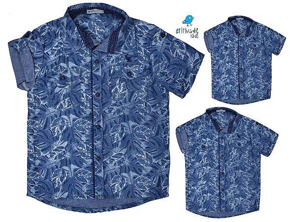 Kit camisa Juliano - Família (três peças) | Safari | Manga curta