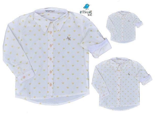 Kit camisa Evair - Família (três peças) | Pequeno Príncipe | Coroa |