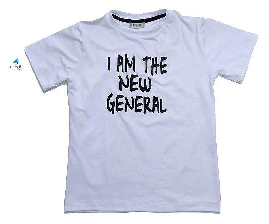 Camiseta - I am the new general - Branca