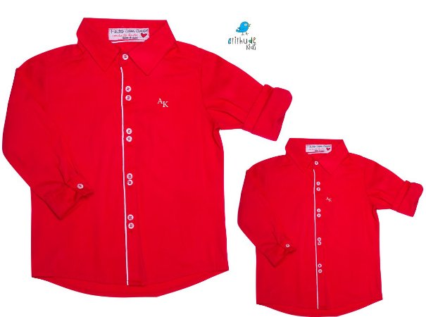 Kit camisa Danilo - Tal pai, tal filho (duas peças)