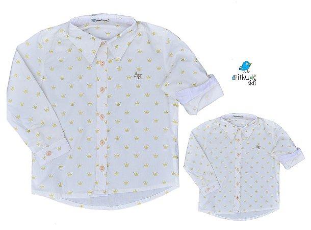 Kit Camisa Evair - Tal mãe, tal filho  (duas peças)  | Pequeno Príncipe