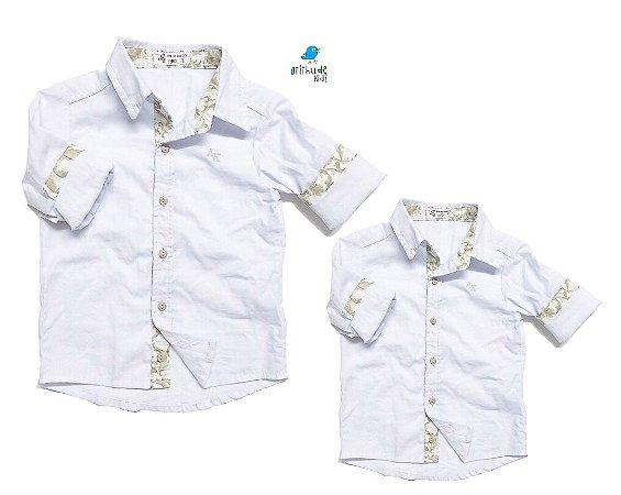 Kit camisa João Gabriel  - Tal pai, tal filho (duas peças)