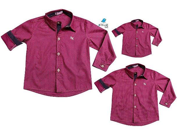 Kit camisa Bento - Família (três peças)