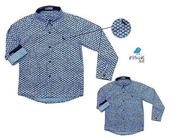 Kit camisa Cauê - Tal pai, tal filho (duas peças)