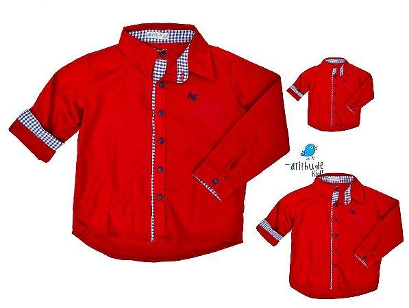 Kit camisa isaac - Família (três peças) | Carros