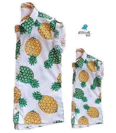 Kit camisa Thiago - Tal pai, tal filho (duas peças) |