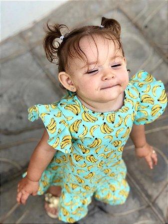 Vestido Ana - Estampa bananas