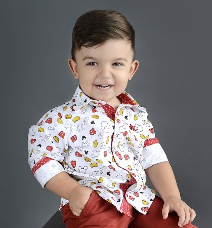 Camisa Meu Mickey - Estampada   Mickey