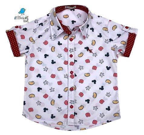 Camisa Meu Mickey - Adulta | Mickey
