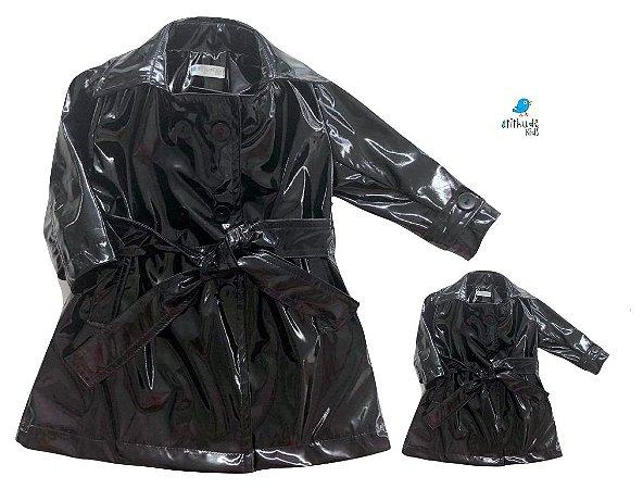 Kit Trench Coat - Tal mãe, tal filho  (duas peças)