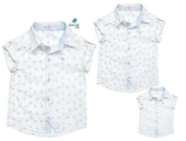 Kit camisa Teddy - Família (três peças)