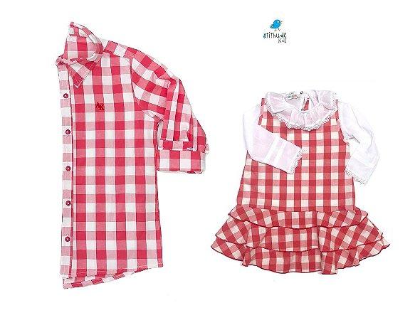 Kit camisa Cadú - Tal pai, tal filha (duas peças)