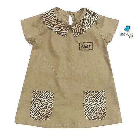 Vestido Sandy - Bege | Safari