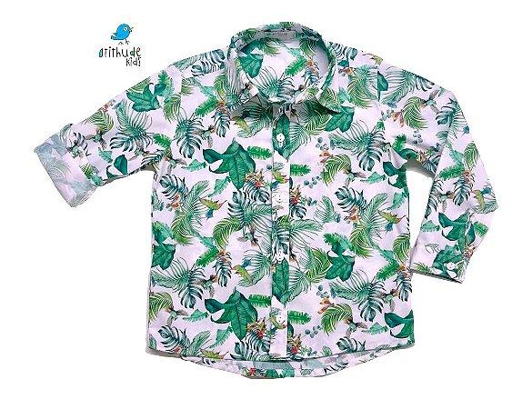 Camisa Marx - Folhas