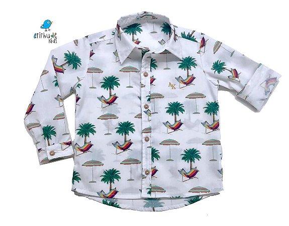 Camisa frank - Estampa Praia