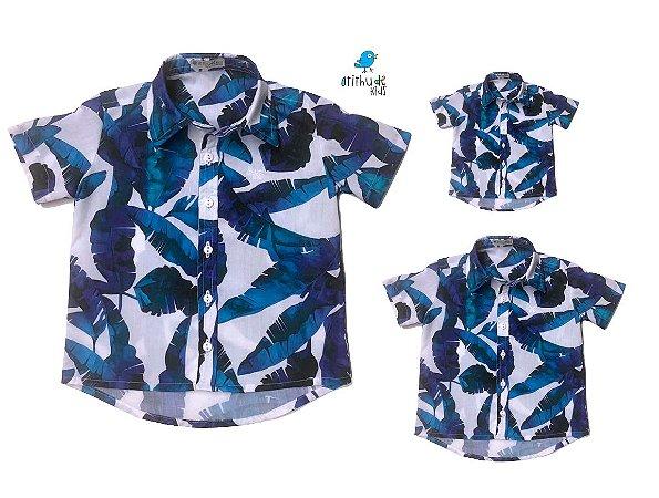 Kit camisa Noah - Família (três peças) | Manga Curta | Praia  |