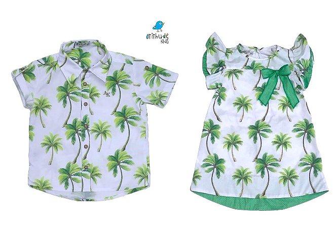 Conjunto Taylor e Martina - Vestido e Camisa | Safari
