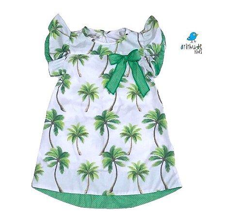 Vestido Martina - Estampada Palmeiras | Safari