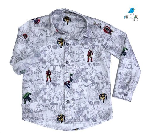 Camisa Nicky - Vingadores | Avengers